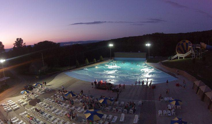 Event Spotlight: Above The Wave Pool Race