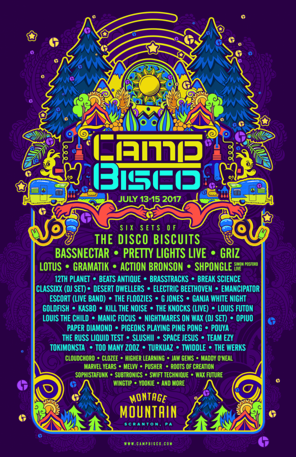 Camp Bisco 14 poster